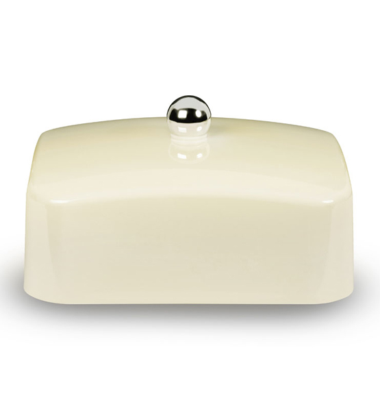 Cream butter dish lid