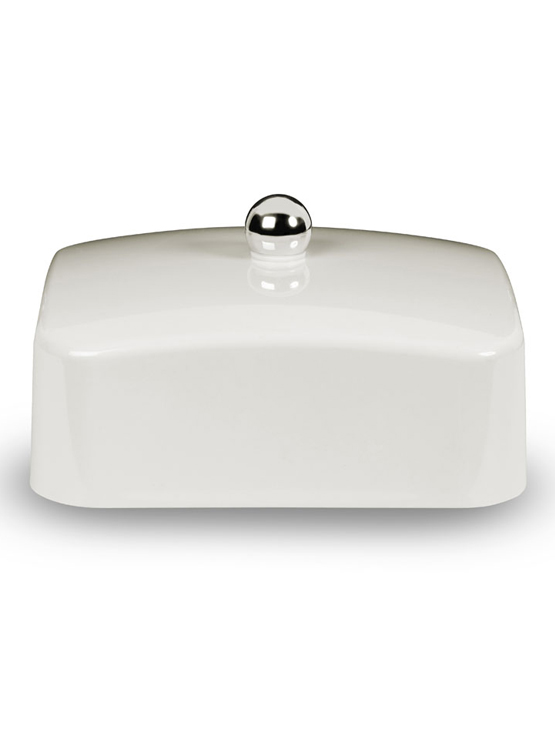 White butter dish lid