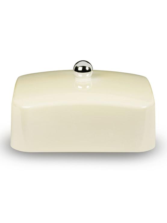 Cream butter dish lid
